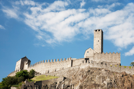 UNESCO「Castelgrande, one of Bellinzonas Castles, Unesco World Heritage in Switzerland.」:スマホ壁紙(11)