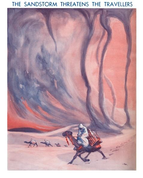 Risk「The Sandstorm Threatens The Travellers」:写真・画像(18)[壁紙.com]
