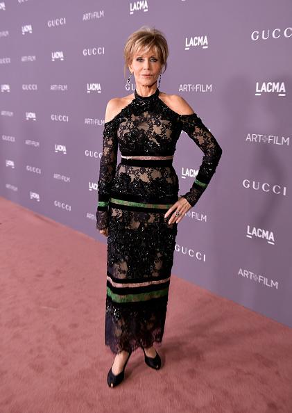 ジェーン・フォンダ「2017 LACMA Art + Film Gala Honoring Mark Bradford And George Lucas Presented By Gucci - Red Carpet」:写真・画像(17)[壁紙.com]