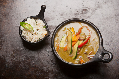 Green Curry「green curry, rice」:スマホ壁紙(1)