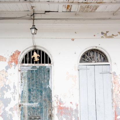 Fleur De Lys「Doorways, French Quarter, New Orleans, Louisiana, United States」:スマホ壁紙(16)