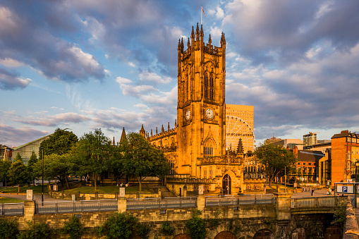 Cathedral「View of Manchester Cathedral」:スマホ壁紙(19)