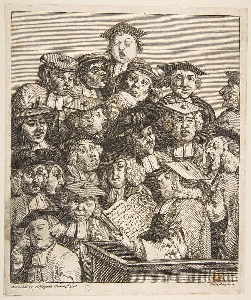 Etching「Scholars At A Lecture」:写真・画像(10)[壁紙.com]