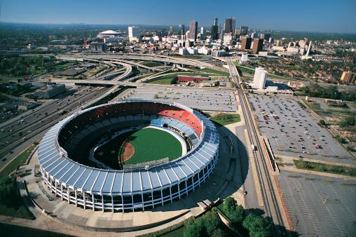 野球「Turner Field, Georgia, Atlanta, USA」:スマホ壁紙(9)