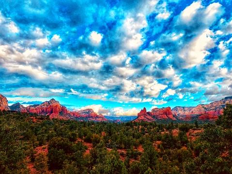 Sedona「Sedona Arizona.  Red Rocks」:スマホ壁紙(19)
