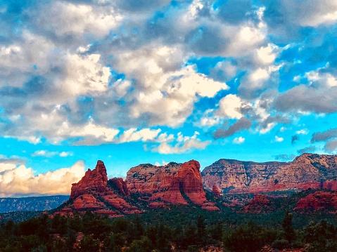Sedona「Sedona Arizona.  Red Rocks」:スマホ壁紙(15)