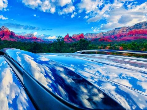 Sedona「Sedona Arizona. Cloud reflections」:スマホ壁紙(16)