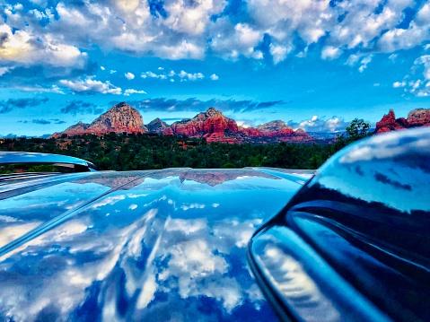 Sedona「Sedona Arizona.  Cloud reflections」:スマホ壁紙(14)