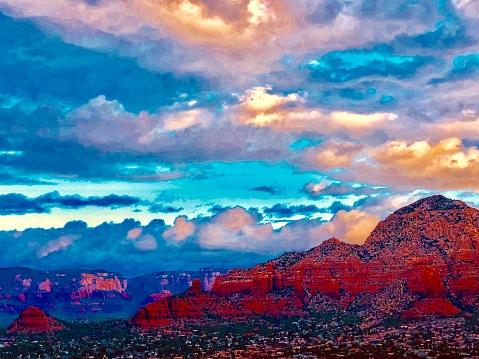 Sedona「Sedona Arizona Landscape」:スマホ壁紙(17)