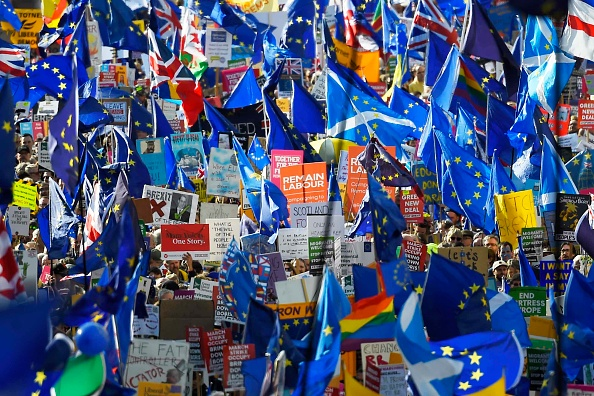 Brexit「People's Vote Campaign Rallies For Final Say On Brexit」:写真・画像(14)[壁紙.com]