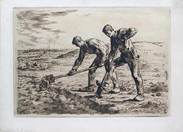Jean Francois Millet「The Diggers」:写真・画像(7)[壁紙.com]