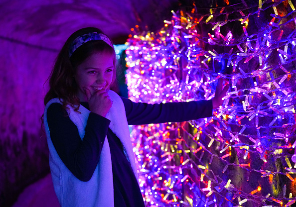 Christmas Decoration「Charlestown Tunnel of Lights Opens For the Festive Season」:写真・画像(5)[壁紙.com]