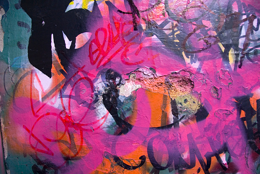 Innovation「Graffiti on a wall, Taksim, Istanbul, Turkey」:スマホ壁紙(12)