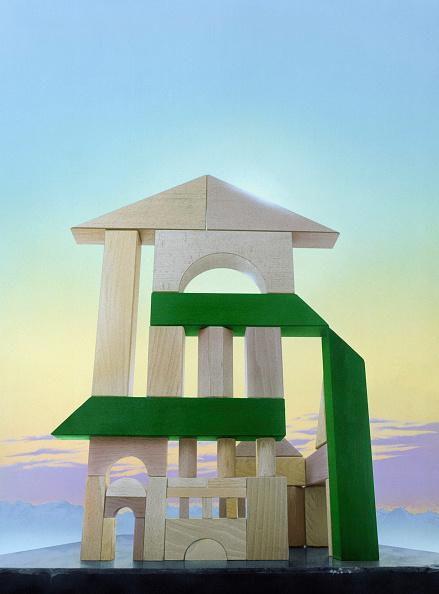 Durability「Digital enhancement, building bricks」:写真・画像(2)[壁紙.com]