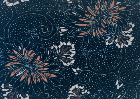 Kimono「Indigo Dyeing」:スマホ壁紙(19)