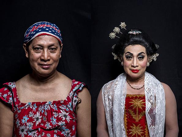 Composite Image「Transgenders Perform Traditional Opera In Indonesia」:写真・画像(6)[壁紙.com]