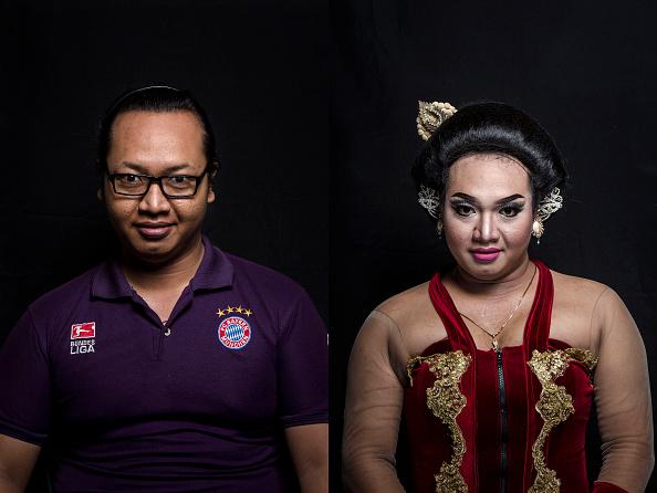 Composite Image「Transgenders Perform Traditional Opera In Indonesia」:写真・画像(0)[壁紙.com]