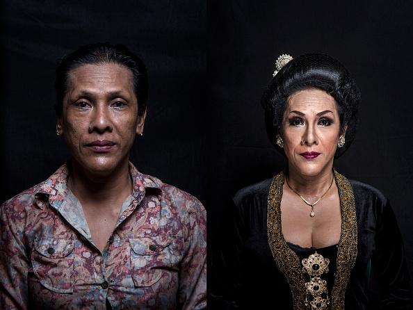 Composite Image「Transgenders Perform Traditional Opera In Indonesia」:写真・画像(1)[壁紙.com]