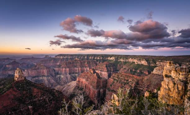 Sunrise at Point Imperial, North Rim, Grand Canyon National Park, Arizona, America, USA:スマホ壁紙(壁紙.com)