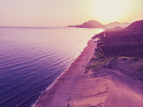 Ultraviolet Light「Sunrise at tottori sand dunes」:スマホ壁紙(19)