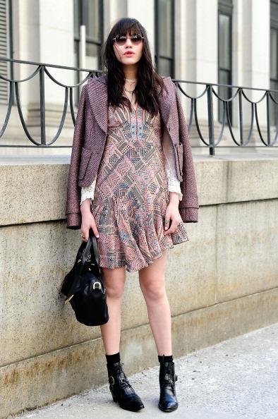 ドレス「Nanette Lepore - Sketch To Street Style - Mercedes-Benz Fashion Week Fall 2014」:写真・画像(16)[壁紙.com]