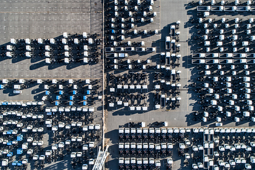 Car Dealership「A line of cars.」:スマホ壁紙(3)