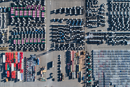 Car Dealership「A line of cars.」:スマホ壁紙(13)
