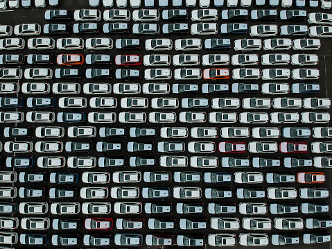 Car Dealership「A line of cars.」:スマホ壁紙(12)