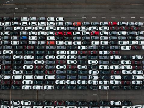 Car Dealership「A line of cars.」:スマホ壁紙(10)