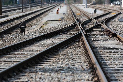 Railway「Railroad switch / turnout」:スマホ壁紙(9)