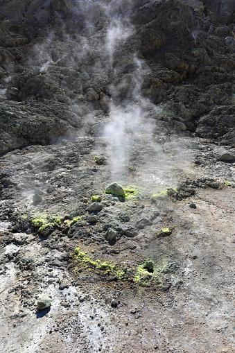 Aegean Sea「The Stefanos crater, volcano of Nisyros」:スマホ壁紙(5)