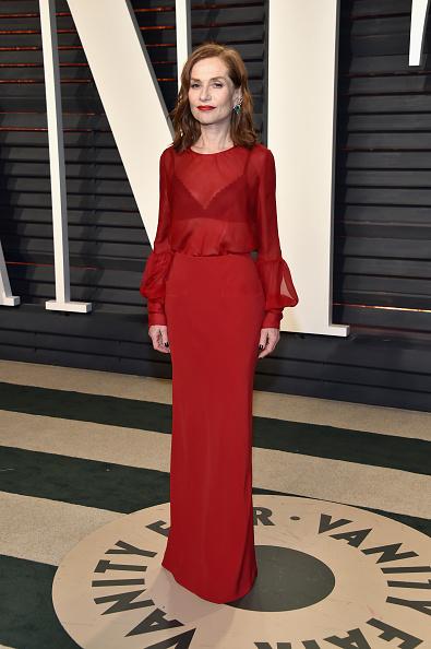 ちりめん生地「2017 Vanity Fair Oscar Party Hosted By Graydon Carter - Arrivals」:写真・画像(12)[壁紙.com]