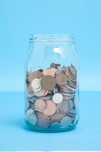 Savings「Glass Jar of coins」:スマホ壁紙(8)