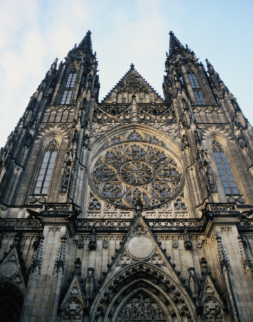St Vitus's Cathedral「Front of St Vitus Cathedral, Prague」:スマホ壁紙(15)