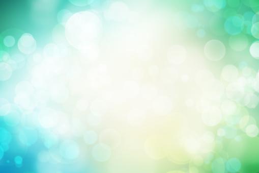 Green Color「Defocused lights」:スマホ壁紙(19)