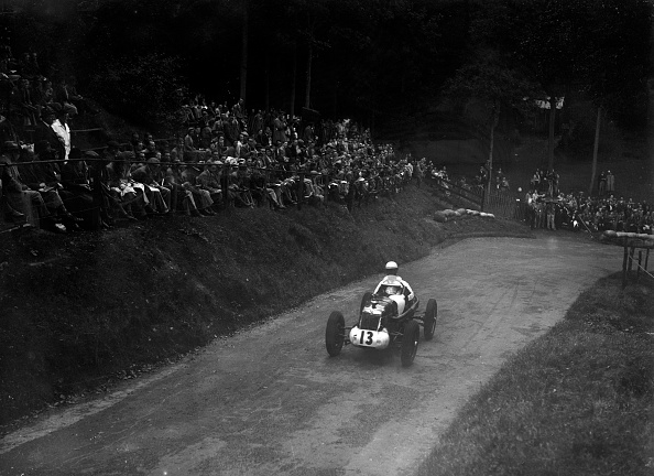 Race Car Driver「Single-seater MG R type competing in the Shelsley Walsh Hillclimb, Worcestershire, 1935」:写真・画像(0)[壁紙.com]