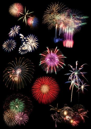 花火「Fireworks collection」:スマホ壁紙(3)