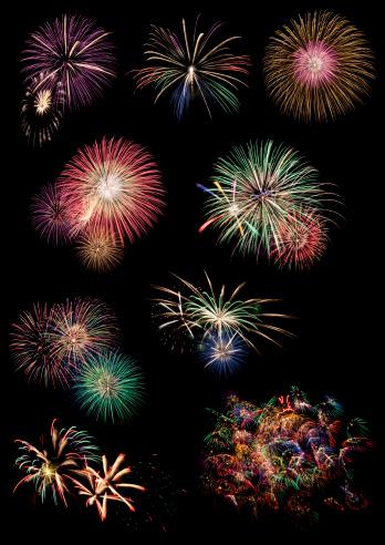 花火「Fireworks collection」:スマホ壁紙(8)