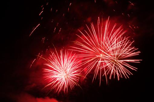 Smoke - Physical Structure「Fireworks close」:スマホ壁紙(1)