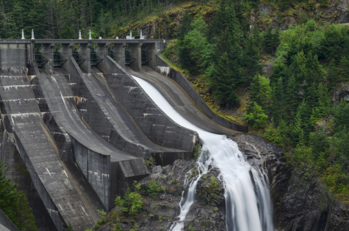 ディアブロダム「Diablo Dam spillway」:スマホ壁紙(5)