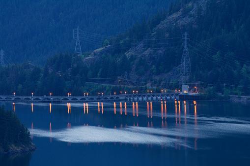 ディアブロダム「Diablo Dam, North Cascades, Washington」:スマホ壁紙(8)