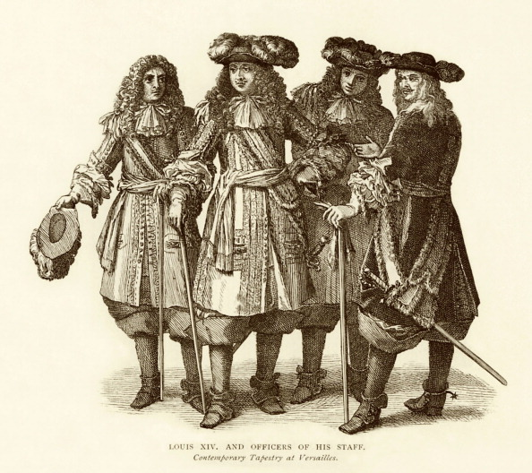 17th Century「Louis XIV with officers and staff」:写真・画像(14)[壁紙.com]