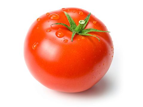 Tomato「tomato w clipping path」:スマホ壁紙(11)