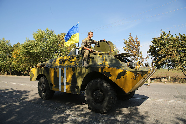2014 Russian Military Intervention in Ukraine「Cease Fire in Ukraine Fails to Stop Fighting」:写真・画像(6)[壁紙.com]