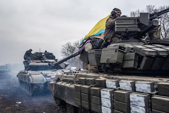 Ukraine「Ukraine Calls For UN Peacekeepers To Enforce Ceasefire After Withdrawal From Debaltseve」:写真・画像(8)[壁紙.com]