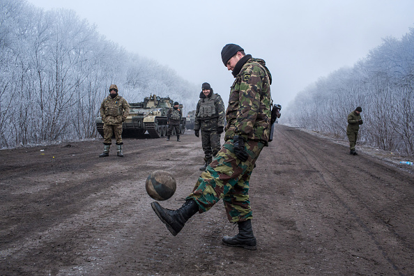 Ukraine「A Ceasefire Is Brokered In War Torn Eastern Ukraine」:写真・画像(14)[壁紙.com]