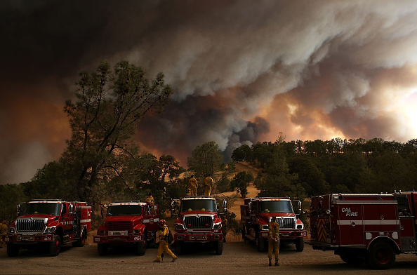 カリフォルニア州「Rocky Fire Grows To 23,000 Acres In Drought-Ridden Northern California」:写真・画像(12)[壁紙.com]