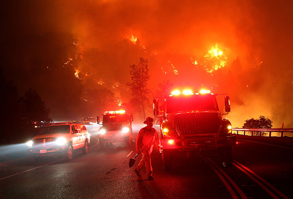 カリフォルニア州「Rocky Fire Grows To 23,000 Acres In Drought-Ridden Northern California」:写真・画像(5)[壁紙.com]