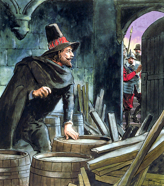 絵「Guy Fawkes Caught In The Act Of Preparing The Gunpowder Plot 1605 (circa 1900)」:写真・画像(8)[壁紙.com]