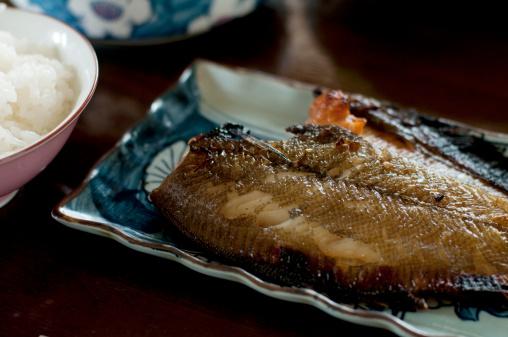Fish「Grilled flatfish with rice」:スマホ壁紙(15)